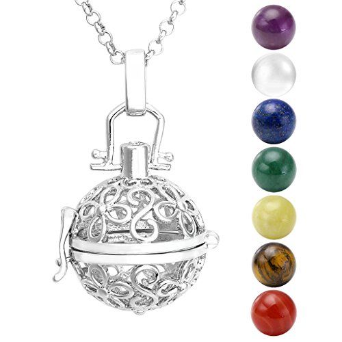 jovivi-hollow-flower-locket-pendant-with-natural-7-chakras-16mm-ball-stones-reiki-healing-energy-bea