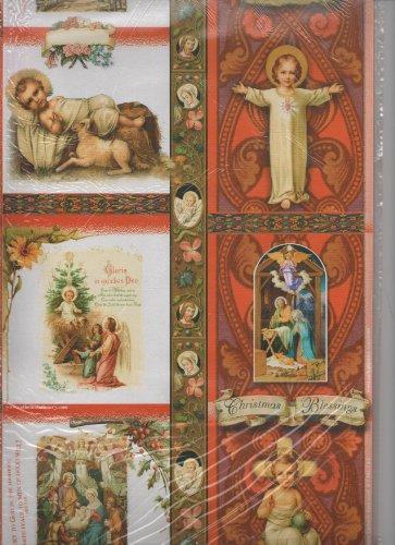 (Christmas Religious Gift Wrap Two 28