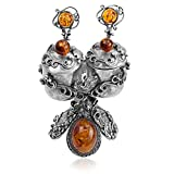 Best Amber by Graciana Friend Gifts On Sales - Sterling Silver Amber Charming Decorative Table Piece Review