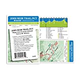 John Muir Trail / PCT Pocket Profile Map