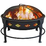 Landmann USA Bromley Fire Pit, Black