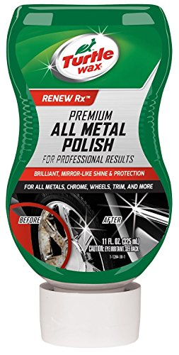 Turtle Wax T-284 Premium Grade Chrome & Metal Polish - 11 oz. Size: 11 Ounces Model: T-284 Car/Vehicle Accessories/Parts (1) ()