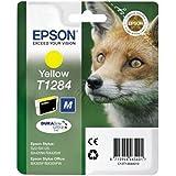Epson Stylus T1284 - Cartucho de tinta para Epson BX305F/BX305FW/BX305FW Plus, 1 unidad, color amarillo