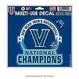 WinCraft Villanova Wildcats Official NCAA 4.5 inch x 6 inch Decal 4.5x6 by 767127
