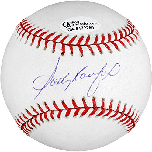 Sandy Koufax Autographed Baseball - Fanatics Authentic Certified - Autographed Baseballs