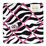 Sweet Jojo Designs Funky Zebra Fabric Memory/Memo