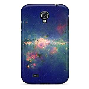 New Premium Flip Cases Covers Outer Space Nebulae Skin Cases For Galaxy S4