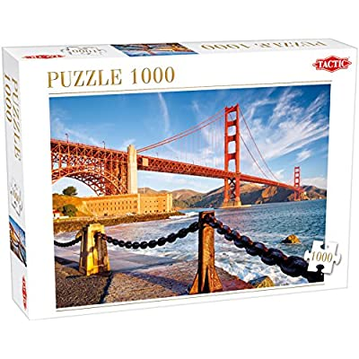 Tactic 53863 San Francisco Bay Puzzle Da Pezzi