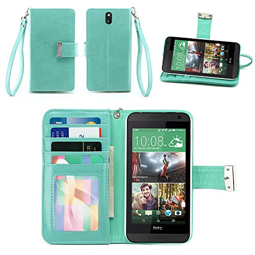 IZENGATE HTC Desire 610 Wallet Case - Executive Premium PU Leather Flip Cover Folio with Stand - Phone Htc Wallet Desire