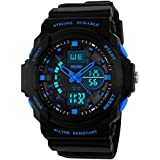 Recalls Multi Function Digital LED Quartz Watch Electronic Sport Watches Child Blue Medium