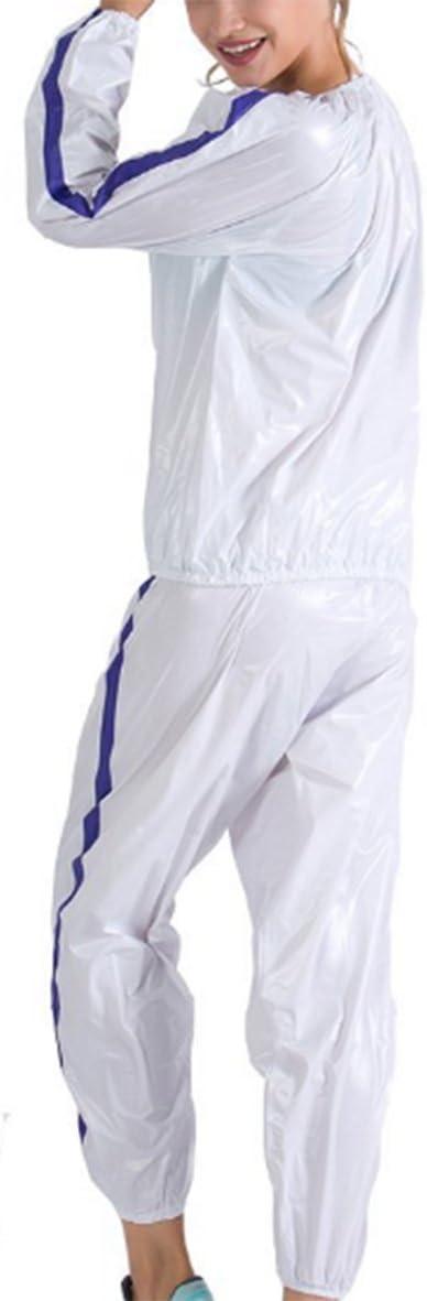 MINIRAH Chandal Hombre Sweat Traje Sauna Fat Burner Ejercicio Gimnasio Fitness Ropa De Deporte De Mujer