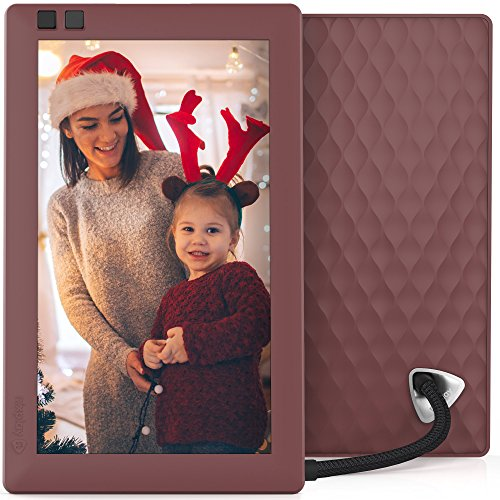 Nixplay Seed 7 inch WiFi Digital Photo Frame - Mulberry by nixplay