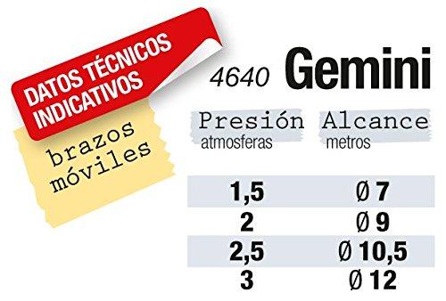 Metaltex 4640 Aspersor Gemini 2 brazos 4640