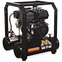 Mi-T-M AM1-HH04-05M Hand Carry Air Compressor, 5-Gallon, Single Stage with Gasoline