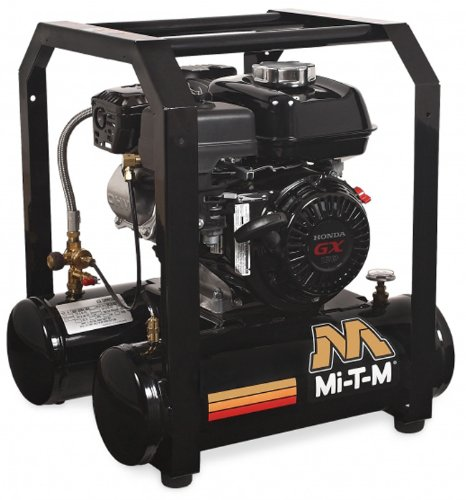 Mi T M Am1 Hh04 05M Hand Carry Air Compressor  5 Gallon  Single Stage With Gasoline