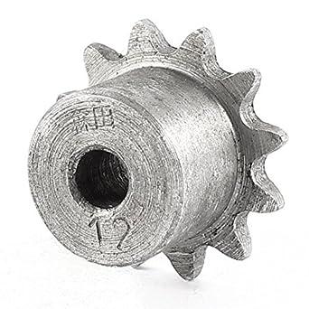 De UNA hilera de dientes 12 Piloto 1/4 Diámetro de la Cadena 6x27mm Piñón