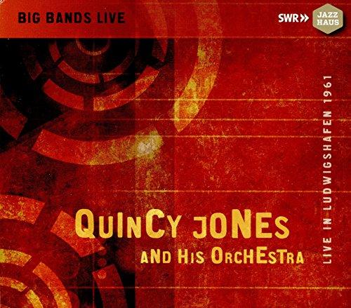 Quincy Jones and His Orchestra - Live in Ludwigshafen 1961 by CD (Image #3)