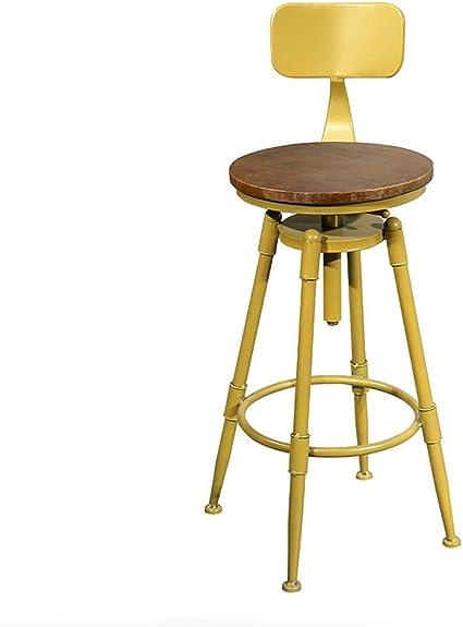 Bar Sedia Sedia alta Fronte scrivania girevole materiali di