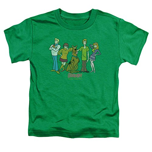 Scooby Doo Scooby Gang Toddler T-Shirt Kelly Green]()