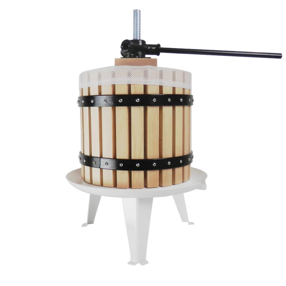Fruit Press Wine Making Tool Grape Cider Berry Pear Apple Juice 12 Litre Dirty Pro Tools