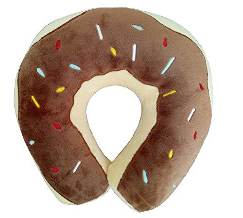 Creative Sweet Donut Microbead Neck Pillow U-Shape Travel...