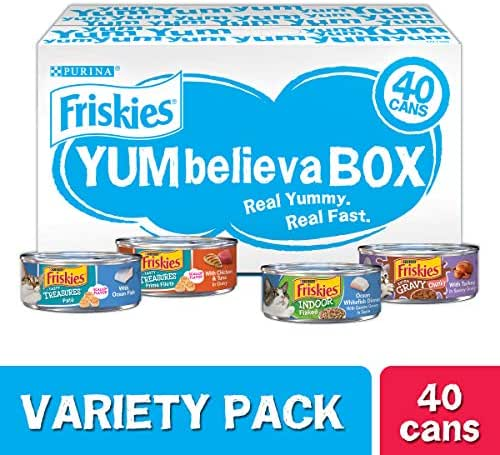 Cat Food: Friskies YUMbelievaBOX