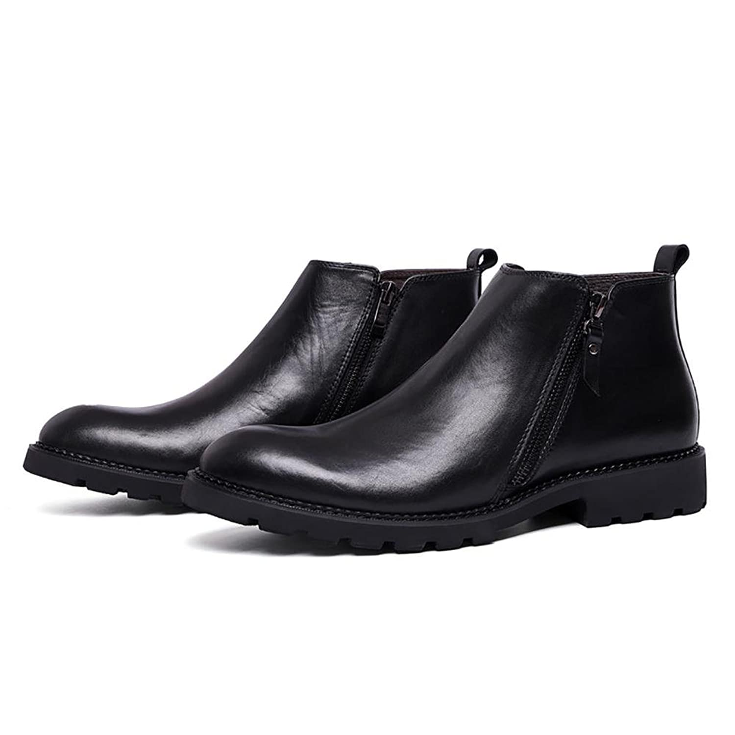 Men's Leather To Help Set Foot Simple Suits Boots