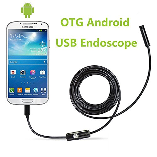 CrazyFire-55mm-Ultra-Slim-Android-Smartphone-USB-Endoscope-Inspection-Camera-IP67-Waterproof-OTG-Micro-USB-Borescope-Android-Flexible-Camera-with-6-LEDs-and-35m1148ft-Cable