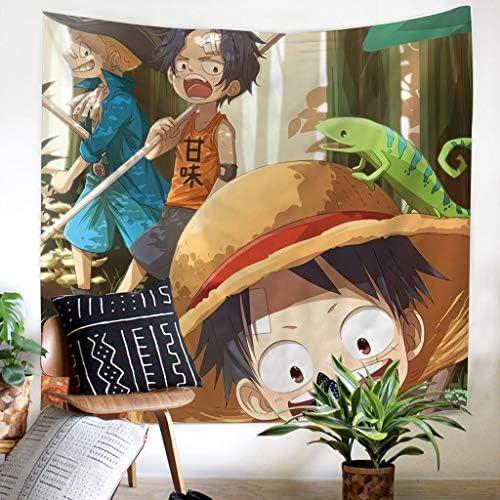 LFOZ 装飾タペストリーワンピースアニメパターン、3サイズ130 Cm×150 Cm、150 Cm×210 Cm、170 Cm×230 Cm、100%ポリエステル タペストリー (Color : C, Size : 170cm×230cm)