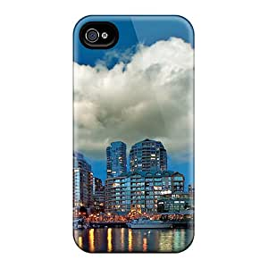 LaurenPFarr Snap On Hard Case Cover Granville Island Protector For Iphone 5/5s