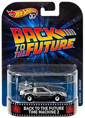 Hot Wheels 2018 Retro Entertainment. Back to The Future Time Machine 2 DeLorean