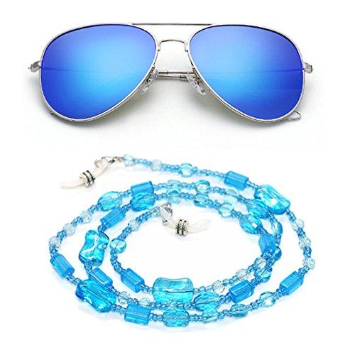 Kalevel Eyeglass Chain Holder Glasses Strap Eyeglass Chains and Cords for Women