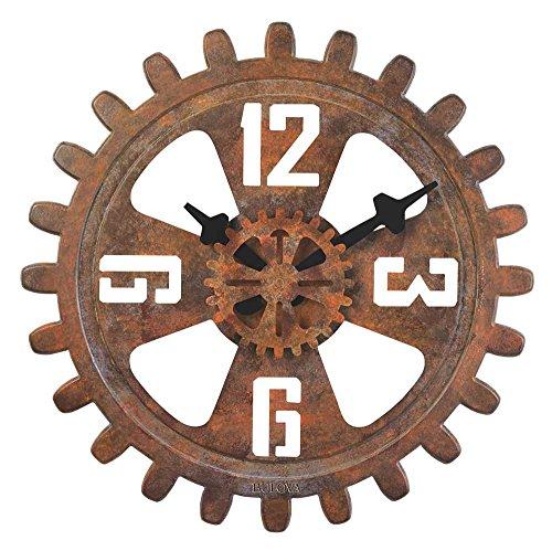 Bulova Motion Large Deco Wall Clock – C4373