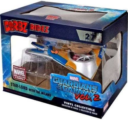 Funko Dorbz Ridez Marvel Guardians of the Galaxy vol. 2 #27 Star-Lord with the Milano Marvel Collector Corps Exclusive