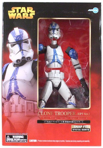 STAR WARS ARTFX CLONE TROOPER (EP3 Ver.) 1/7 Soft Vinyl Painted simple assembly kit