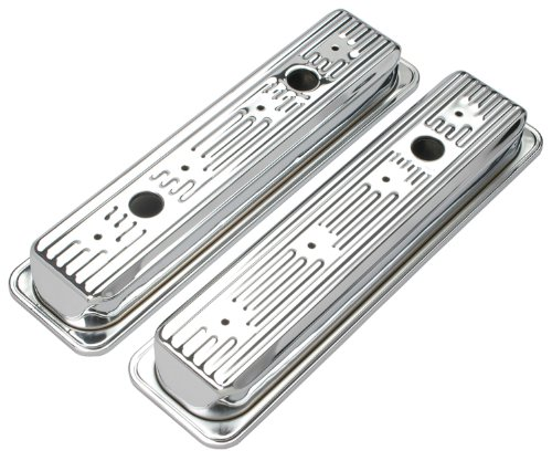 - Trans-Dapt 9702 Chrome Valve Covers - Set of 2