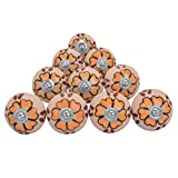 Cabinet Drawer Knobs Door Cupboard Multi-Color Pullar Drawer Ceramic Knobs
