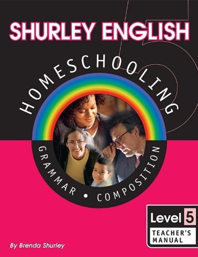 Shurley English Homeschool Kit: Level 5 Grammar Composition by Shurley, Brenda(January 1, 2002) -