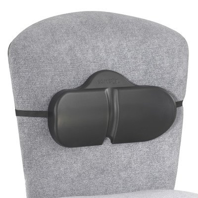 SoftSpot Lumbar Roll Backrest with Strap (Set of 5) [Set of 5] by Safco Products Company