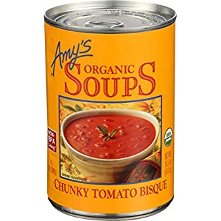 Amys, Soup Chunky Tomato Bisque Organic, 14.5 Ounce