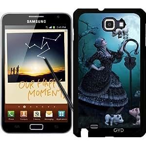 Funda para Samsung Galaxy Note GT-N7000 (I9220) - Guardián De La Noche by Illu-Pic.-A.T.Art