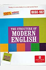 BEGE 102 The Structure of Modern English guide book with previous year solved papers Paperback
