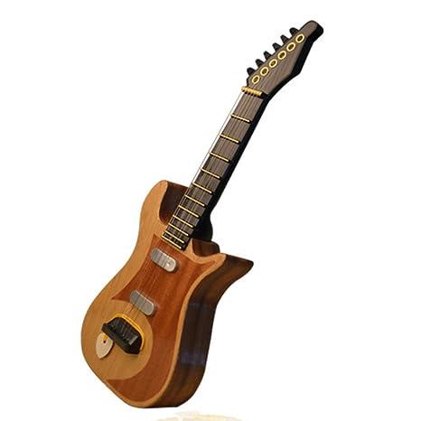 Foxom Guitarra para Niños, 6 Cuerdas Mini Guitarra Moderno Madera Música Eléctrico Guitarra Niños Musical