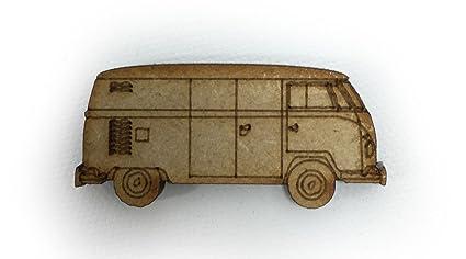 Car Craft Vw >> 40mm Vw Camper Van Inspired Craft Shapes 3mm Medite