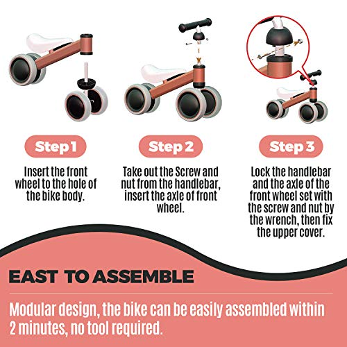 outdew-Baby-Balance-Bike-Bicycle-Ride-On-Toys-1-Y thumbnail 14