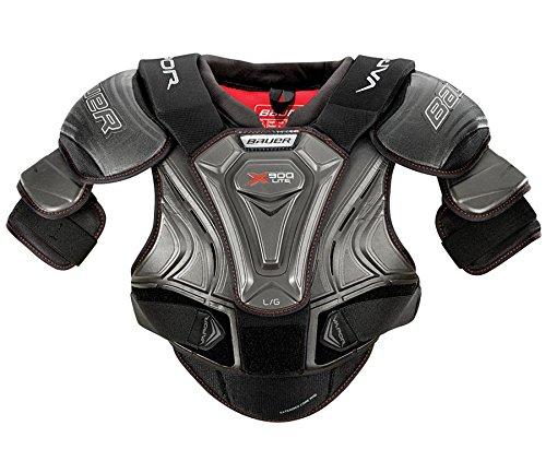 Bauer Senior Vapor X900 LITE Ice Hockey Shoulder Pads (M, Black)