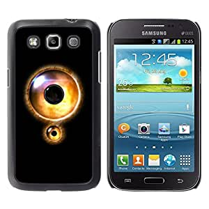 LECELL -- Funda protectora / Cubierta / Piel For Samsung Galaxy Win I8550 I8552 Grand Quattro -- Eye Lock --