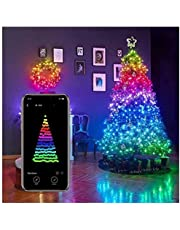 Christmas Tree Decoration Lights, Smart App Controlled Christmas Lights, for Christmas Tree Garden Decoration Custom Led String Lights