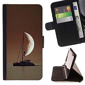 /Skull Market/ - SAILOR IN THE SEA HALF MOON For LG Nexus 5 D820 D821 - Caja de la carpeta del tir???¡¯???€????€?????????&A