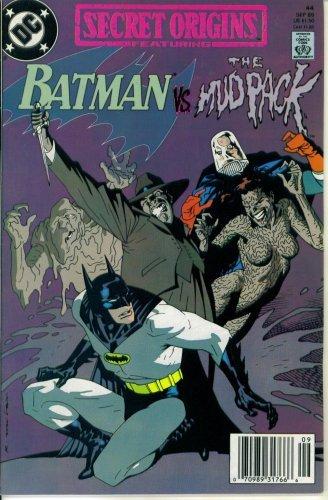 Secret Origins #44 : Featuring Batman vs. the Mud Pack (DC Comics) (Wolverine Vs Spiderman Vs Hulk Vs Batman)